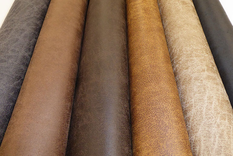 leather upholstery fabric