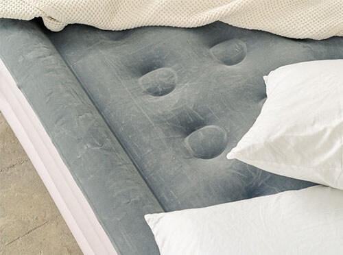 make futon comfortable with air mattress