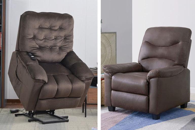 power vs manual recliner