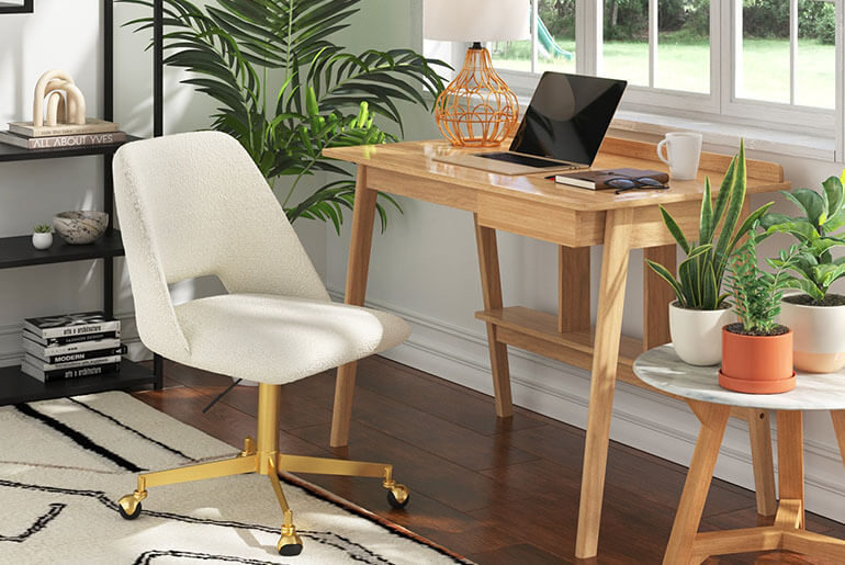 stop office chair from rolling