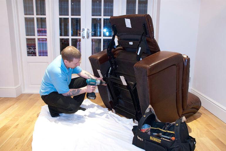 fixing broken recliner